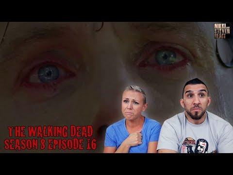 """The Walking Dead Season 8 Episode 16 """"Wrath"""" Season Finale REACTION - Part 2"""