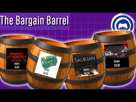 THE QUEST FOR INDIE BARGAINS BEGINS! | The Bargain Barrel | StreamFourStar