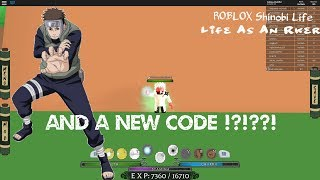 ROBLOX Shinobi Life - Life As An Rker #1 and a new CODE !?!??!
