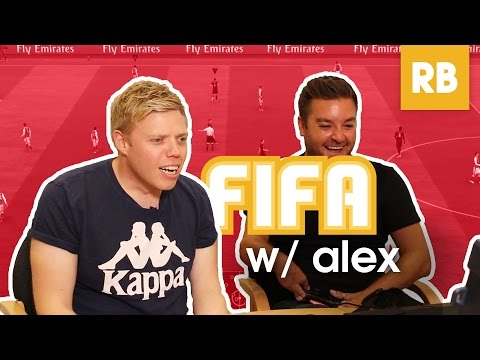 Alex Brooker Is A FIFA Troll?!