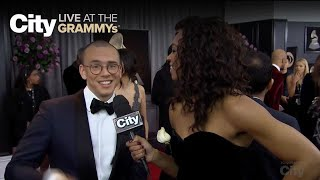 logic has mad love for alessia cara city live at the grammys