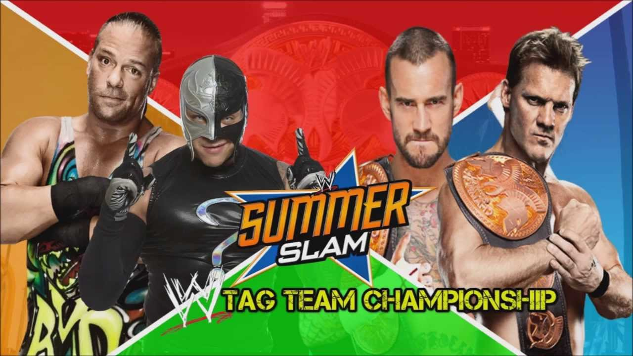 wwe summerslam 2014 custom match card youtube