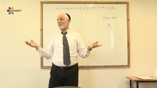 The Mystical Letter Aleph - Part 1 - Rabbi Yaakov Marcus