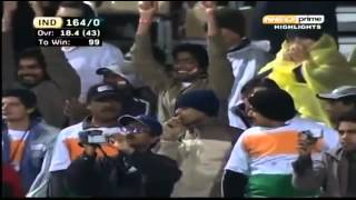 Virendra sehwag's fatest century in 60 balls