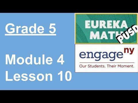 lesson 10 homework 5.4 eureka math