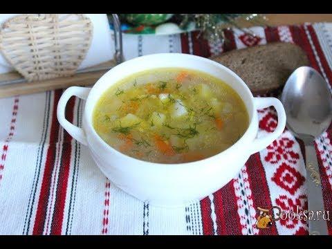 Перловый суп на курином бульоне