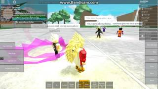 Roblox DBO ep1 part1 THE ROSE SAYIAN