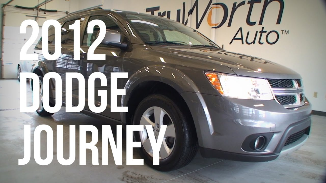 2012 dodge journey clean carfax aux usb inputs truworth auto rh youtube com 2012 Dodge Journey RT Interior 2012 Dodge Journey MPG