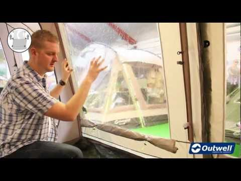 Outwell Toggle Up Curtains - Icon video