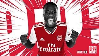 Welcome to Arsenal, Nicolas Pepe!