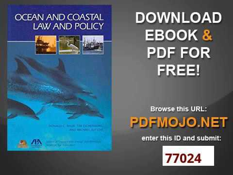 Ocean and Coastal Law and Policy