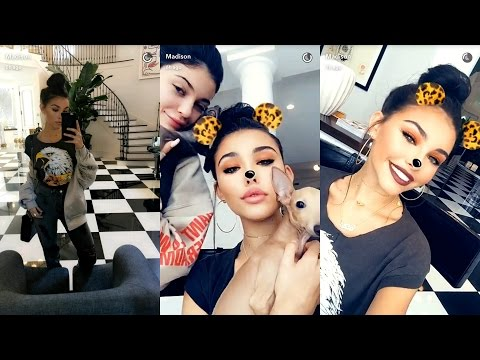 Madison Beer ► Snapchat Story ◄ 20 March 2017 w/ Kylie Jenner