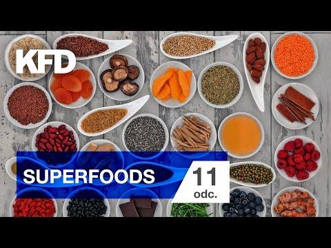 Dieta z Ajwen #11 Superfoods - jedzenie jako lekarstwo - KFD