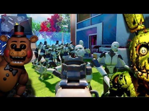 Black Ops 3 - Nuketown iRobot / Five Nights At Freddy's Easteregg (Call of Duty BO3)