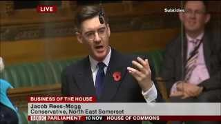Jacob Rees-Mogg calls the Government Crooked