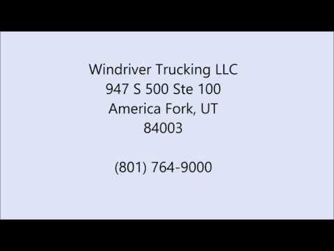 Flowback Jobs in Tioga, UT - (801) 764-9000 - Windriver Trucking LLC