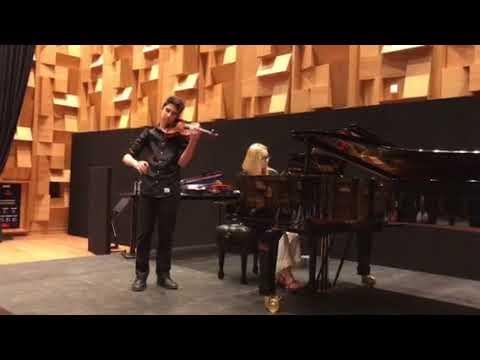 Masterclass at Dubai Opera; 'From the Homeland' (excerpt 2nd mvt)