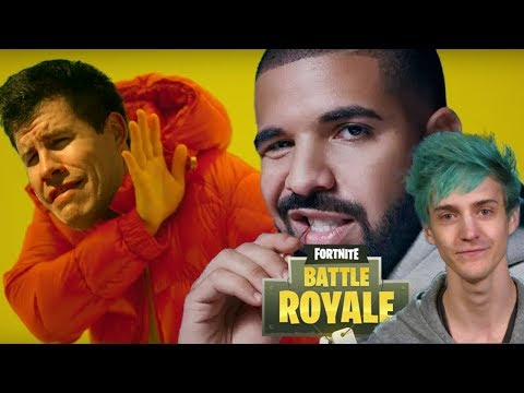 FORTNITE W/ DRAKE AND NINJA... WHO CARES? - Dude Soup Podcast #166