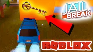 THE COPPER KEY IS 100% IN ROBLOX JAILBREAK!! (Ready Player One Event)