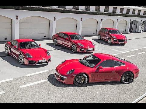 Vier Porsche GTS-Modelle im Vergleich (2015)