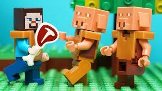 마인크래프트 레고 스톱모션 [돼지고기] MINECRAF…