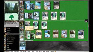 Magic The Gathering Birthing Pod Deck - Value Bant Pod Vs Mono Blue Delver Illusions