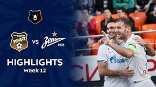Highlights FC Ural vs Zenit (1-3)