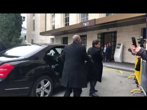 Algerian delegation as observer member of Geneva Negotiations