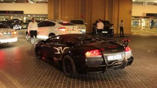 Black on Black Lamborghini LP670-4 SV in Dubai