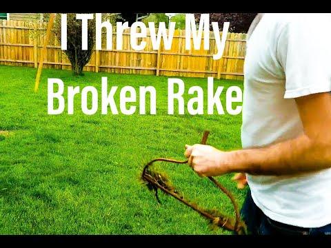 Broken Wood Handle Garden Tool? How to fix rake, shovel, or spade!