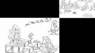 Buddhism theory story  Chojugiga Enma  Heaven and hell  (MozartRequiem)