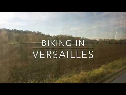 Biking in Versailles