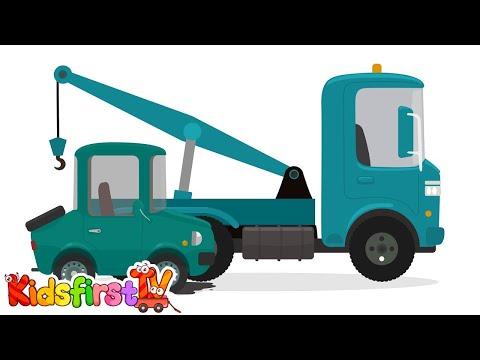 Doctor McWheelie & cars for kids. Car engine repair.