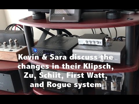 Kevin and Sara's Klipsch, Zu, Schiit, First Watt music & home theater  systems
