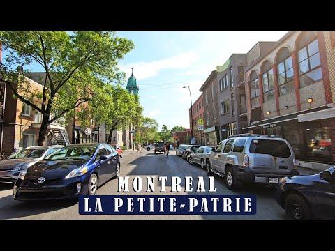 Beautiful Ride in Rosemont / La Petite-Patrie neighborhood of Montreal Quebec Canada  #petitepatrie