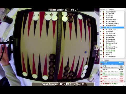Frank Simon (2,36) vs Rainer Witt (1,41) 5p - RNC - Jackpot 2 Final - Mar 2015 - BMAB 82 - XG-Feed