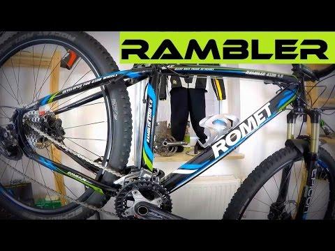 Romet Rambler 4.0 + SR Suntour Epicon - stan po 3000 km. Rower górski - test....
