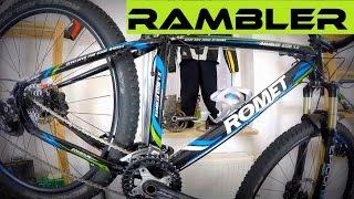 Romet Rambler 4.0 + SR Suntour Epicon - stan po 3000 km. Rower górski - test.