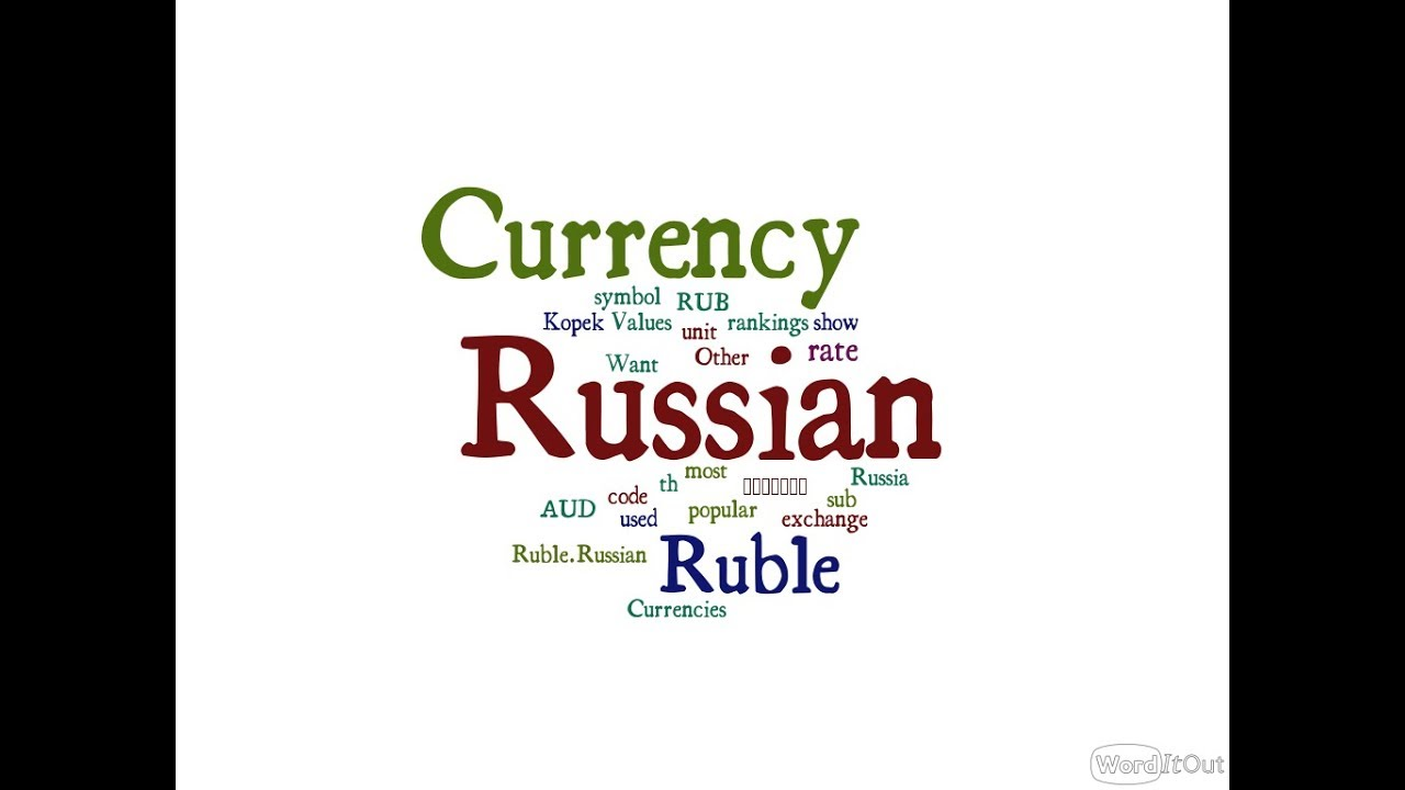 Russian Currency Ruble Youtube