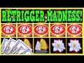 💰EZ Does DRAGON LINK on 10 Cent Denom! ▶ RETRIGGER MADNESS ◀