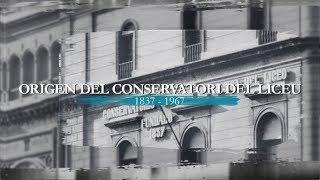 Origen del Conservatori del Liceu (1837-1967)