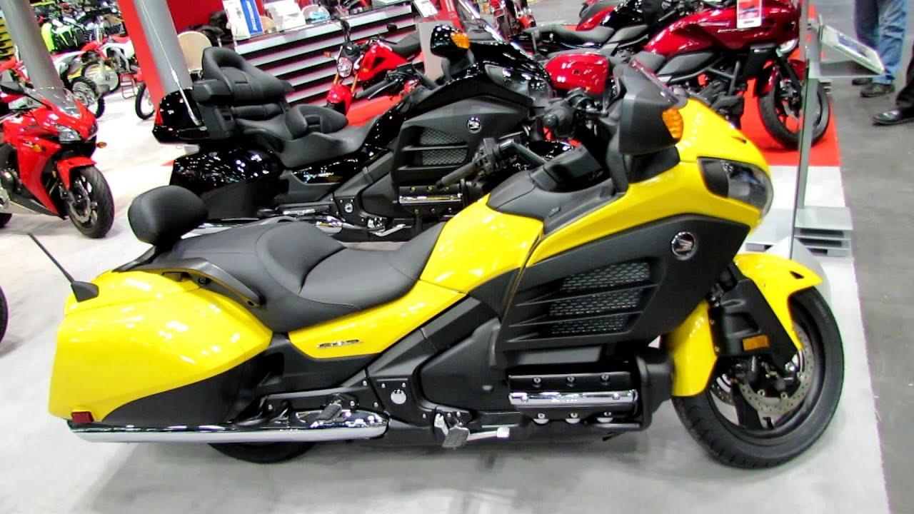 honda gold wing fb walkaround   york motorcycle show youtube