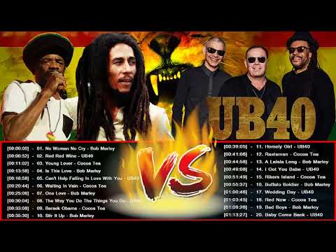 Bob Marley,UB40,Cocoa Tea Top 20 Reggea Songs, Greatest Hits,Best Songs Playlist