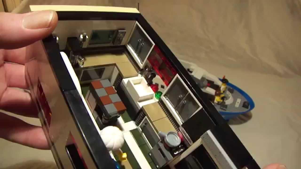 Lego City Modular Yacht And Family Transporter MOC YouTube