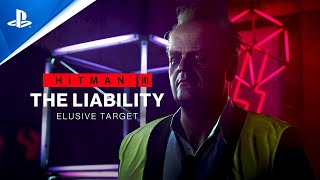 Hitman 3 - The Liability Elusive Target (Mission Briefing) | PS5,  PS4, PS VR