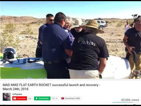 Nasa's Flat Earth Rocket Launch Update thumbnail