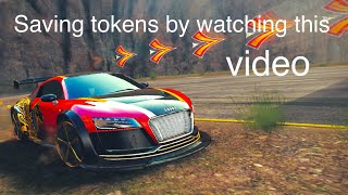 Asphalt 8, AUDI R8 E-TRON SE, how to save your tokens