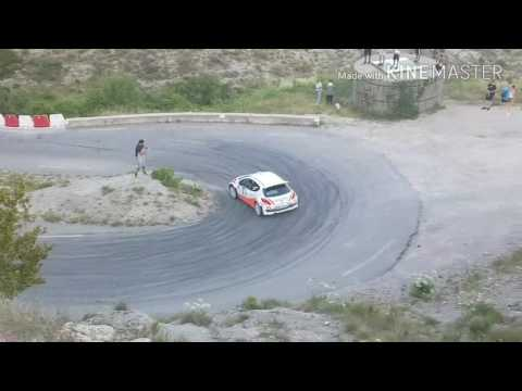 Rallye de Jean Behra 2017 passage au cable Es8 Coaraze-Lucérame