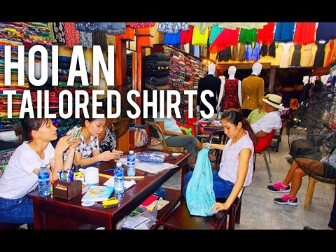 TAILORED CLOTHES VIETNAM | MY EXPERIENCE VISITING A TAILOR SHOP IN VIETNAM