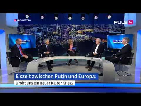 Dirk Müller bei PULS 4  Lachanfall